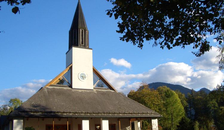 The last concert of the 53rd sing week of Salzburg in the church St. Konrad in Abersee.