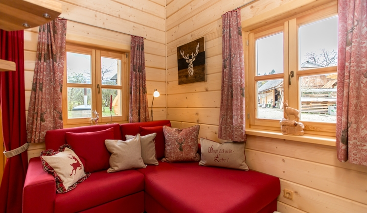 Naturchalet am Wolfgangsee Wohncouch
