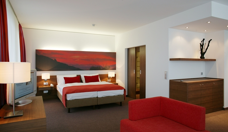 rotes Zimmer (© Lebensquell Bad Zell)