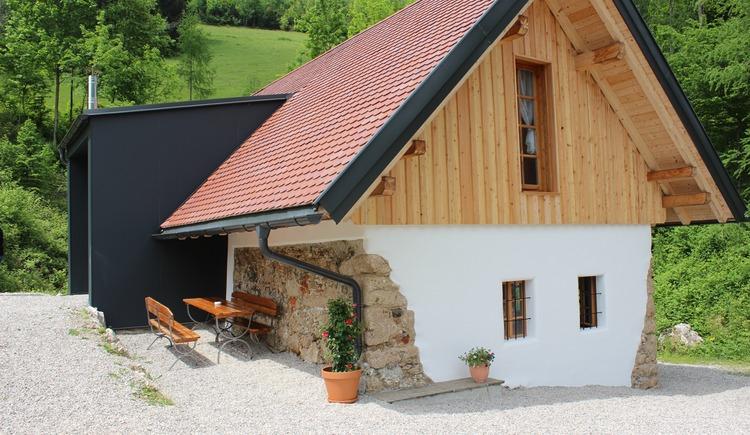 """Ferienhaus \""""Am Stein\"""" - Kleinreifling"""
