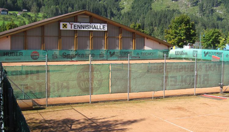 Tennishalle Hinterstoder (© Sturmgut)