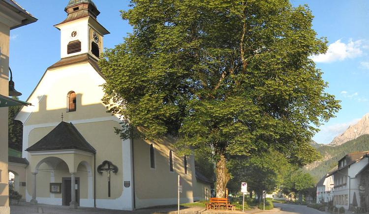 Spätbarocke Pfarrkirche Hinterstoder (© TVB Pyhrn-Priel/Schachner)