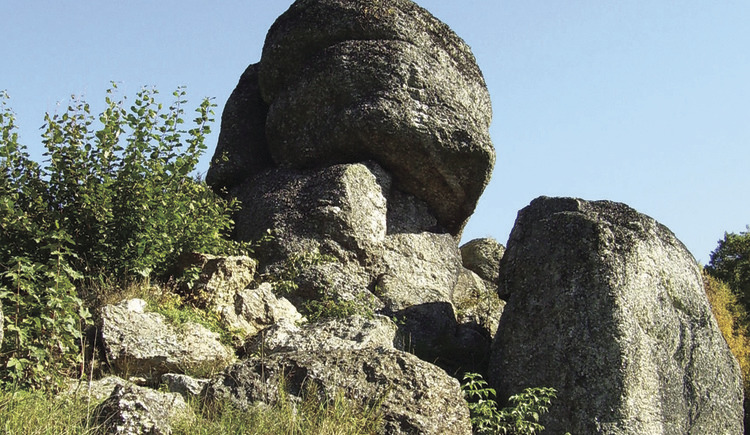 Phallusstein (© Gemeinde Kaltenberg)