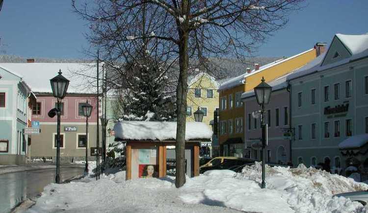 Bärnsteinhof im Winter (© Gemeindeamt Aigen-Schlägl)
