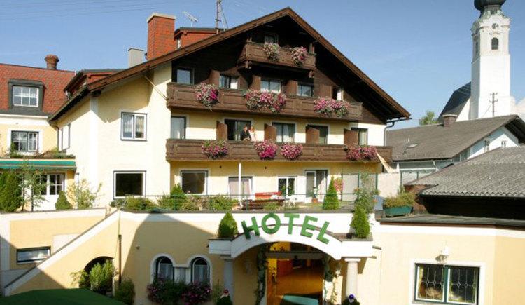 Attergauhof Familie S\u00f6llinger im Zentrum von Sankt Georgen i.A. (© Tourismusverband Sankt Georgen)