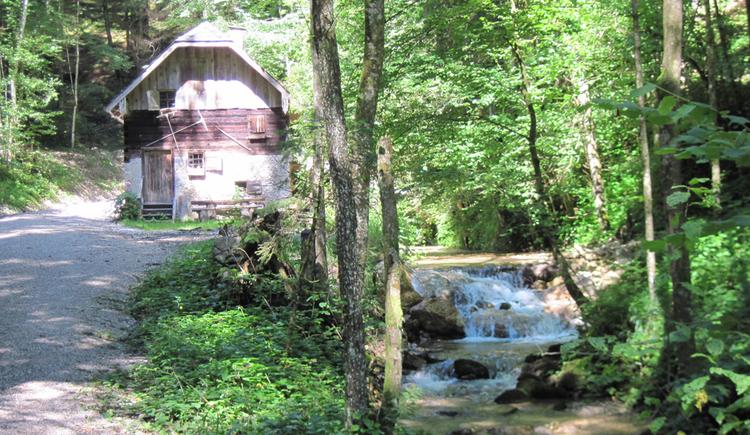 Alte Mühle in der Zeppetzau (© Gisbert Rabeder)
