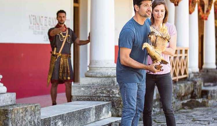 Besuch bei der Landesausstellung der Römer (© Atelier Olschinsky)