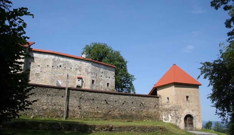 Burg mit Eingang (© Kulturverein Piberstein)