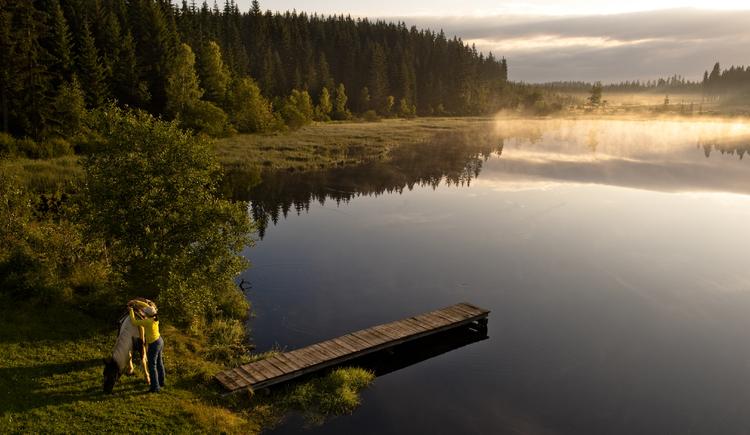 Rubener Teich Tanner Moor. (© Erber Mühlviertler Alm)
