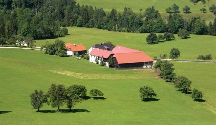 Inmitten gesunder Natur unser Bauernhof (© Bürtlmair)