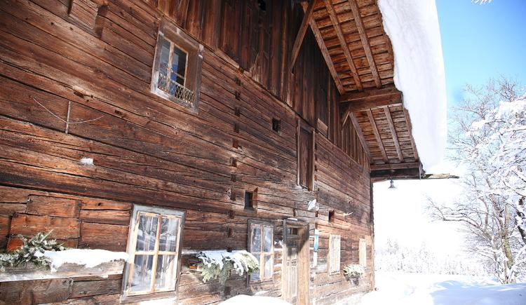 Rauchhaus im Winter