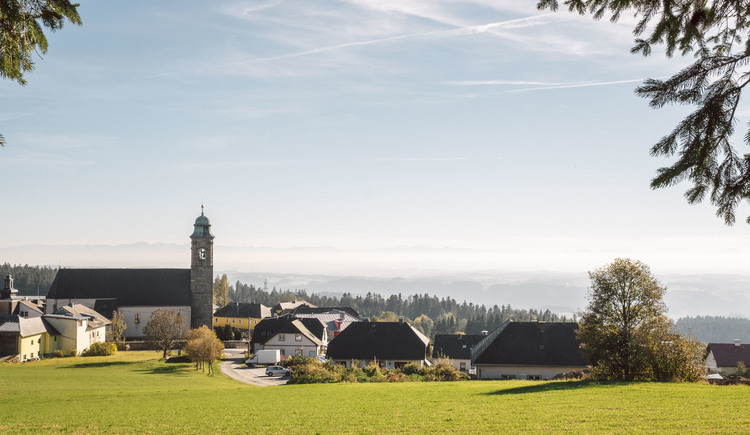 Pfarrkirchen mit Blick nach Süden (© Stöbich)