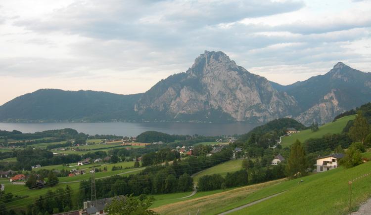 Blick auf den Traunstein (© Oberösterreich Tourismus / green-solutions)