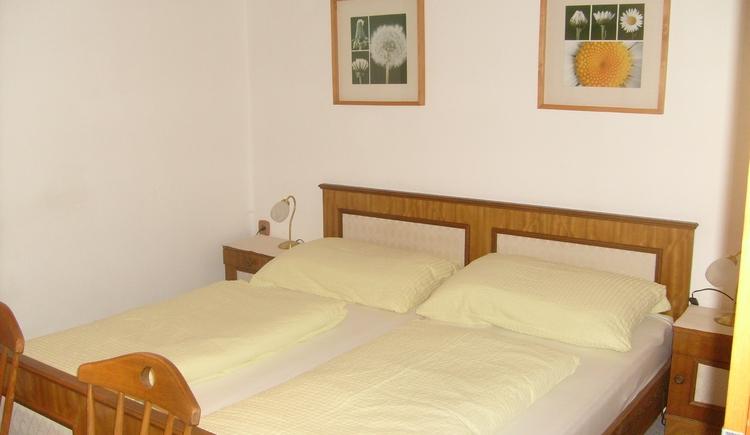 Ferienwohnung 1, Schlafzimmer, Haus Peer in Bad Goisern