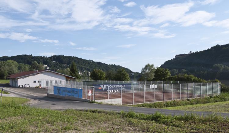Tennisplatz, Sportanlage Union Wernstein am Inn