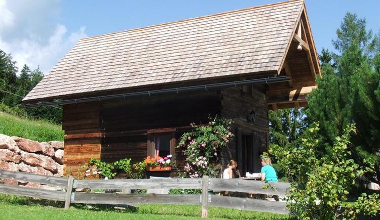 Ascher Hütte im Sommer (© Ascher Hütte)