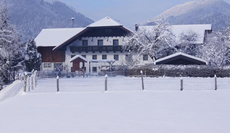 Mühlbbauernhof Winter (© TVB Ebenau)