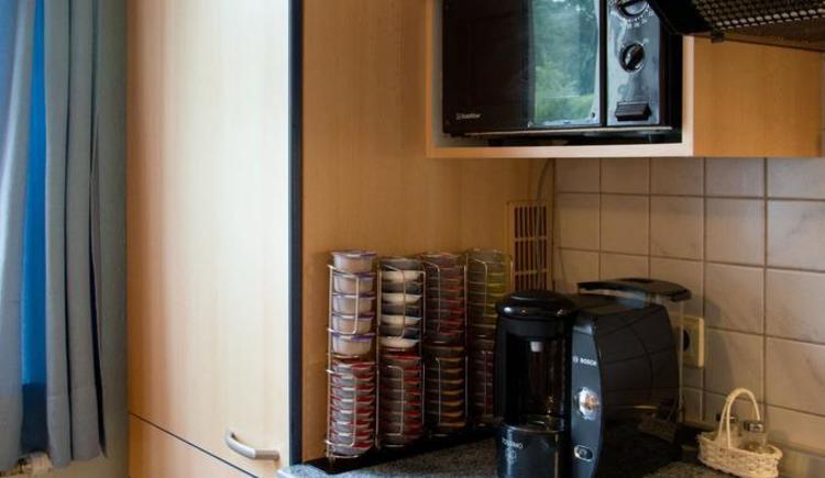 Kaffeemaschine mit Taps
