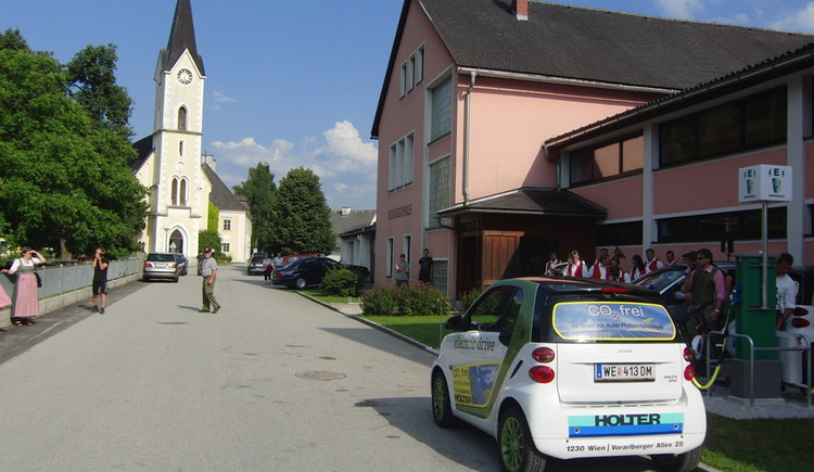 Stromtankstelle St. Pankraz (© Energieautarke Region Pyhrn-Priel)