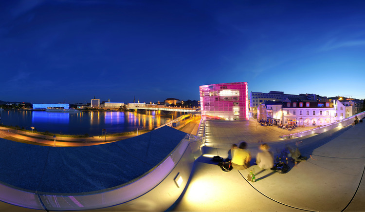 Ars Electronica Center. (© Oberösterreich Tourismus/Steininger)