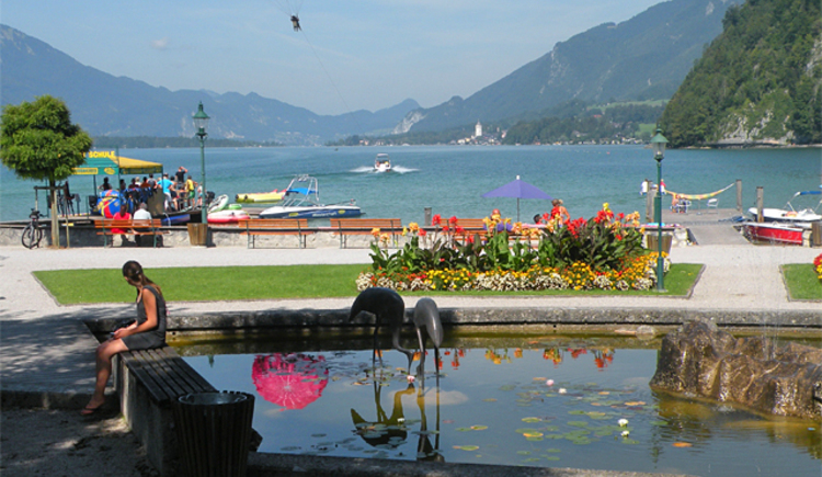 Wassersport in Strobl