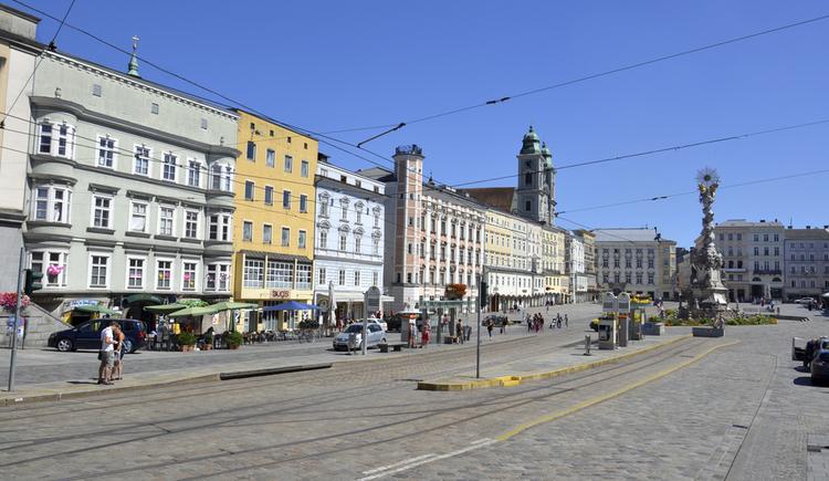 Hauptplatz (© LinzTourismus LEckerstorfer)