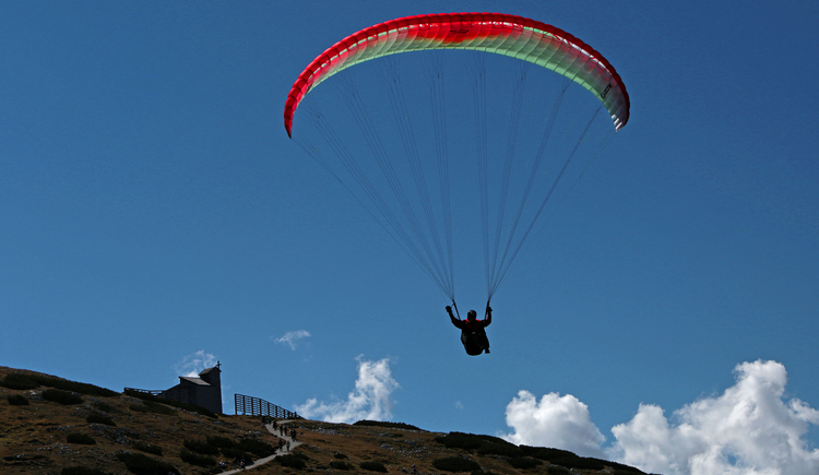 Enjoy this wonderful area while Paragliding.