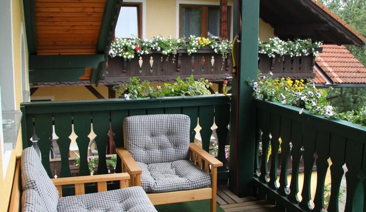 Balkon Familienappartement Waldmühle