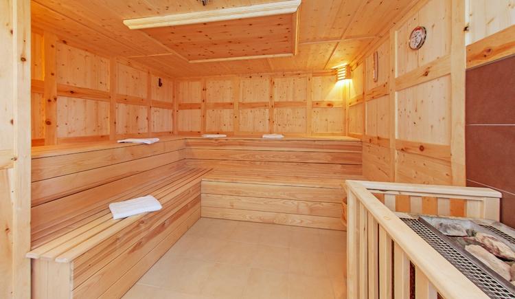 Großzügig angelegter Saunabereich