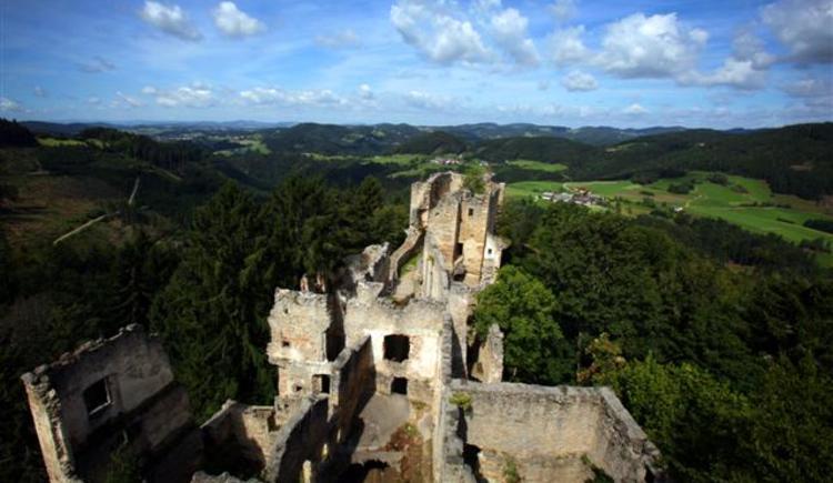 Burgruine Prandegg. (© Mühlviertler Alm_Erber)