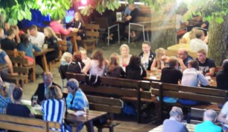 Gasthaus Roitinger, Gastgarten