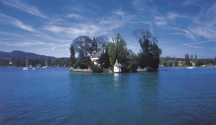 Seewalchen am Attersee: Leitlinsel. (© OÖ. Tourismus Marketing/Heilinger)