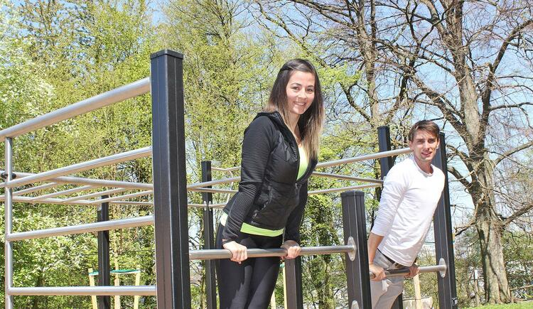 Fitnessparcours am Reinberg (© Stadt Wels)