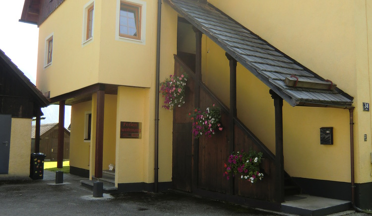 The house Tapler is located in Hallstatt directly at Lake Hallstatt in the Holiday Region Dachstein Salzkammergut.