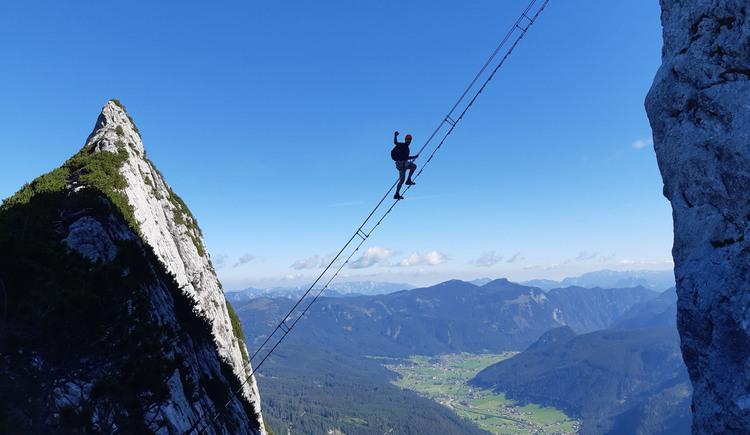 Klettersteig Leiter zum Himmel am Donnerkogel. (© laserer-alpin.at)