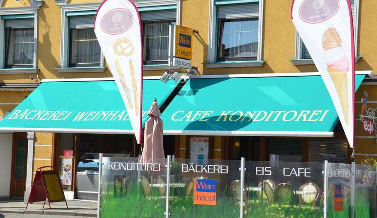 Café Konditorei Weinhäupl. (© Innviertel Tourismus)