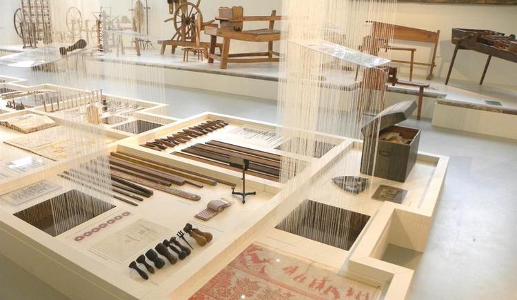 Werkzeuge im Museum (© Textiles Zentrum Haslach)