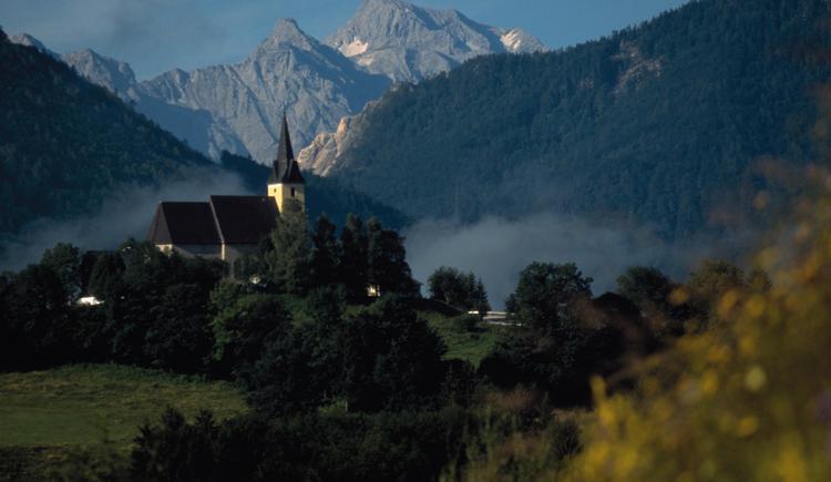 Frauenstein bei Klaus: Wallfahrtskirche mit Kl. und Gr. Priel