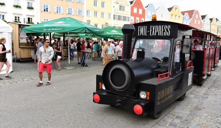 Bummelzugfahrt (© Schärding Tourismus)