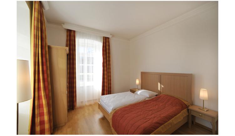 Schlafzimmer 1 Wohnung Anemone