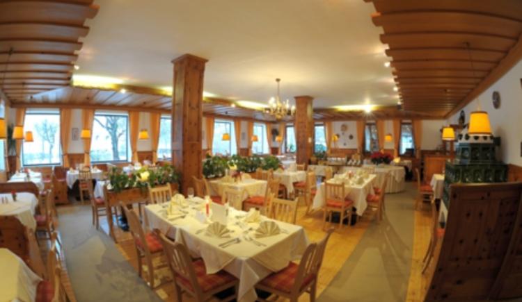 Restaurant (© Seehotel Schlick)