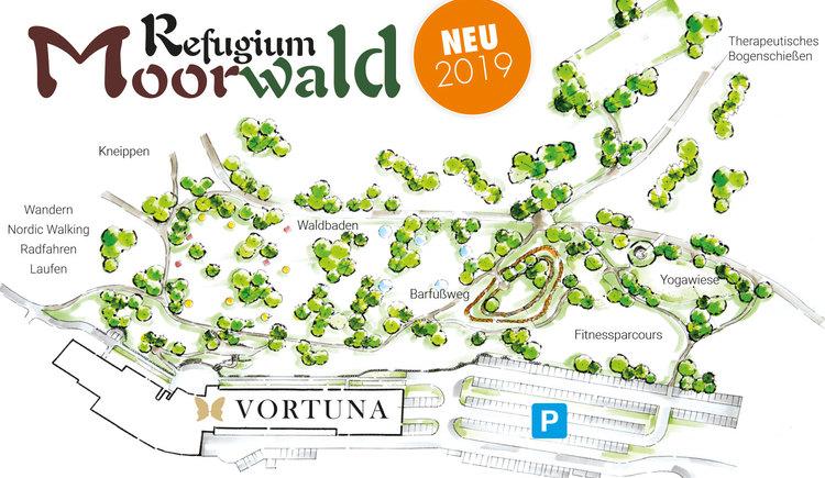 refugium moorwald übersicht (© Vortuna Gesundheitsresort Bad Leonfelden)