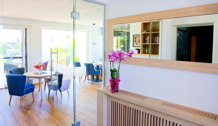 Eingang Frühstücksraum (© Pension Reiter)