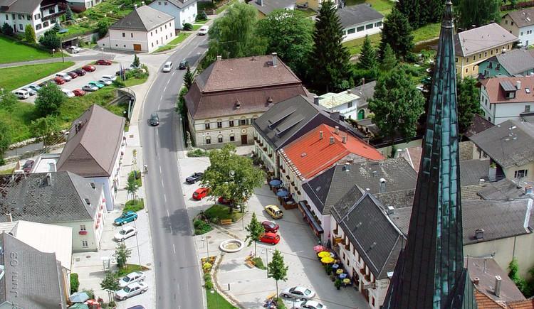Ortsplatz Zwettl an der Rodl