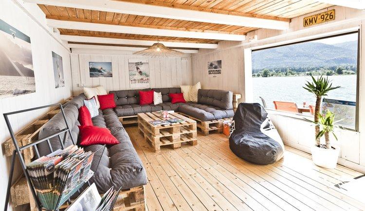 Sportcamp Raudaschl Beach Lounge. (© Sportcamp Raudaschl Mirja Geh)