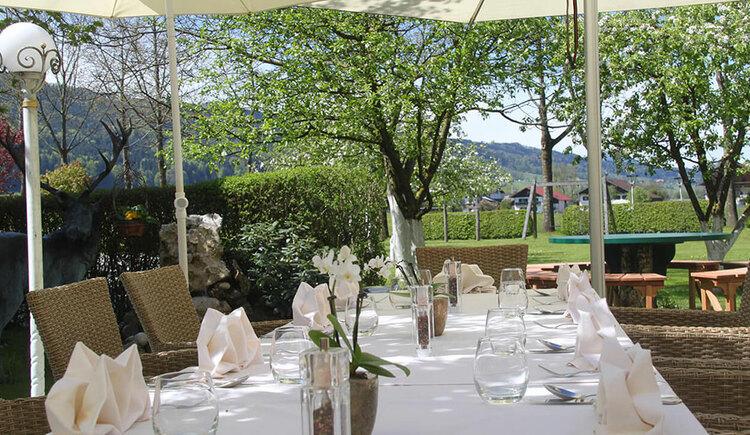 Terrasse Hotel Eichingerbauer **** Superior (© Sabine Sperr)