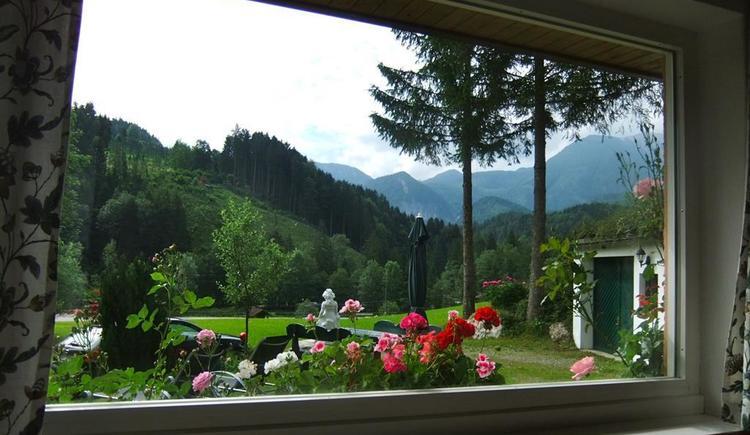 Blick aus dem Panoramafenster