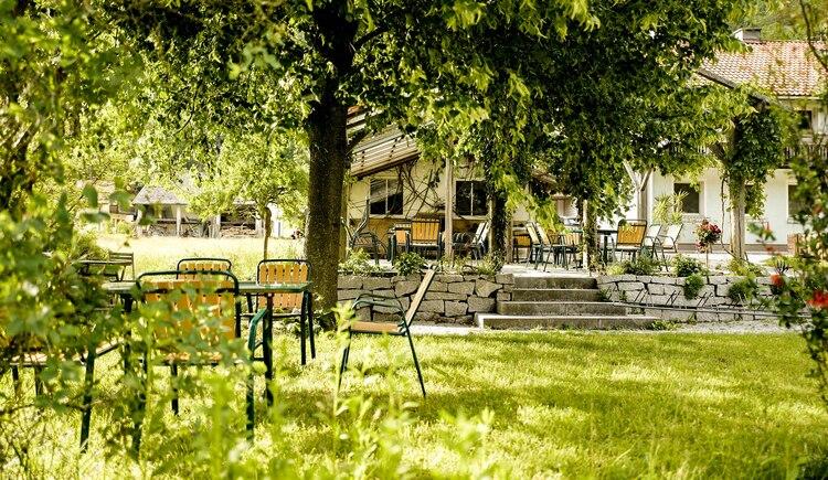 Gastgarten. (© Bernhard Baumüller)