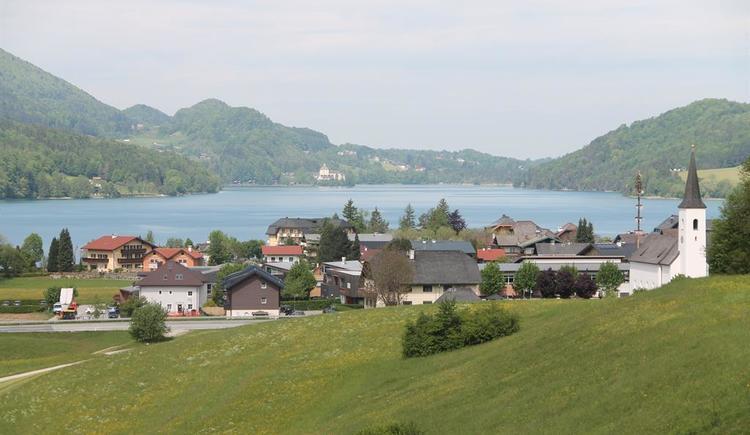 Ausblick auf Fuschl am See