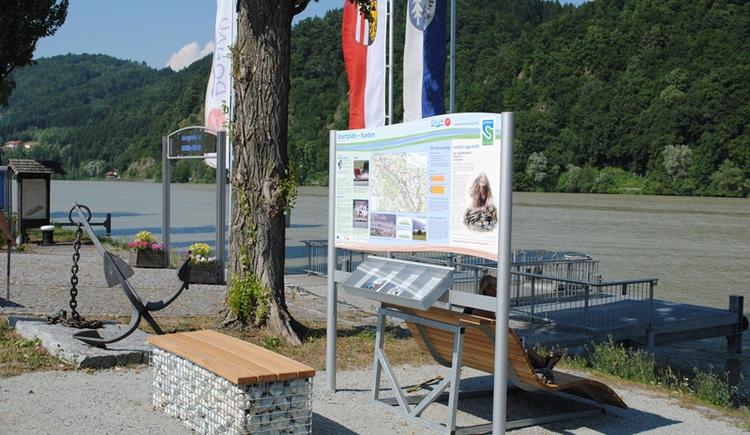 Donausteig-Startplatz Kasten